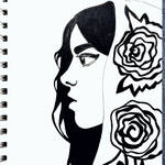 Rose by wingedmusician
