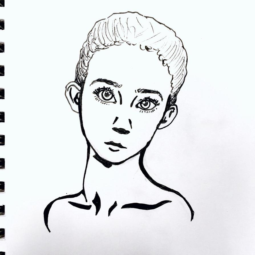 Pretty Lady by wingedmusician