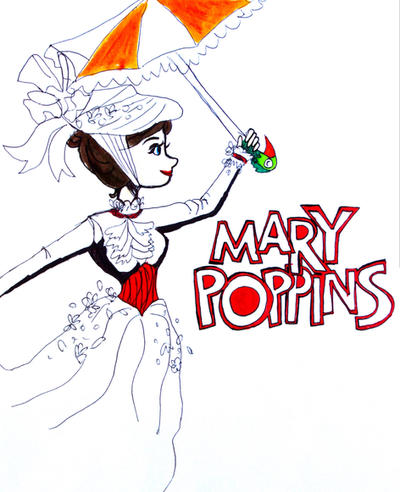 Mary Poppins  by wingedmusician