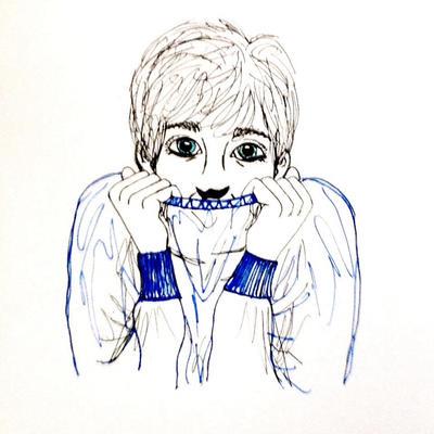 Asa Butterfield by wingedmusician