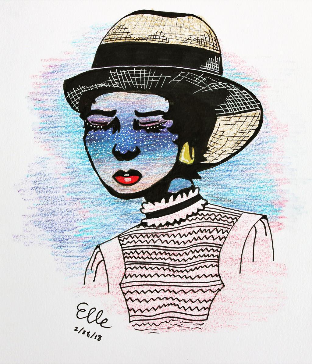 Daisy Buchanan by wingedmusician