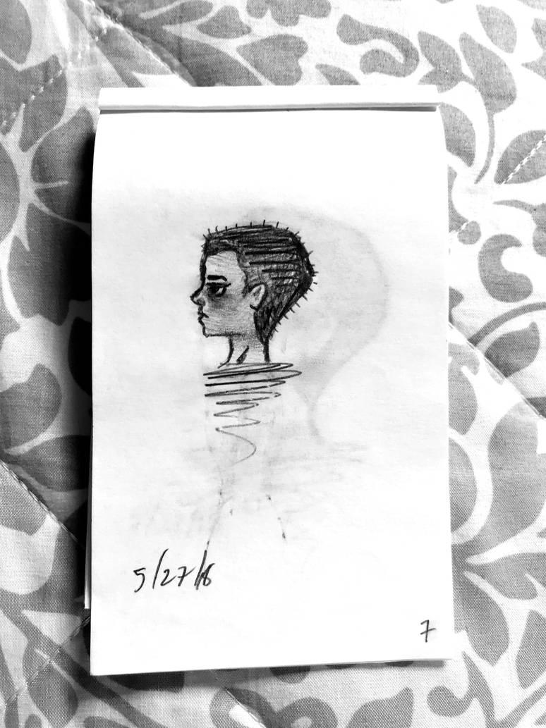 Portrait 6 by wingedmusician