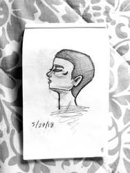 Portrait 7 by wingedmusician
