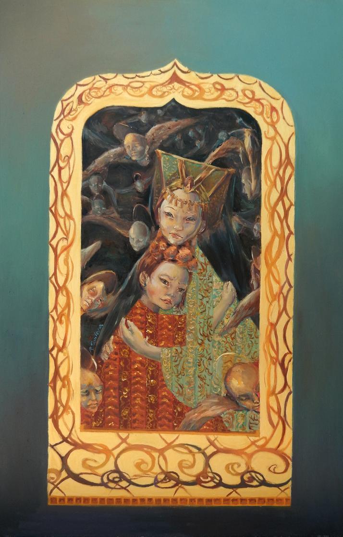 Las princesas by RominaSantana-Art