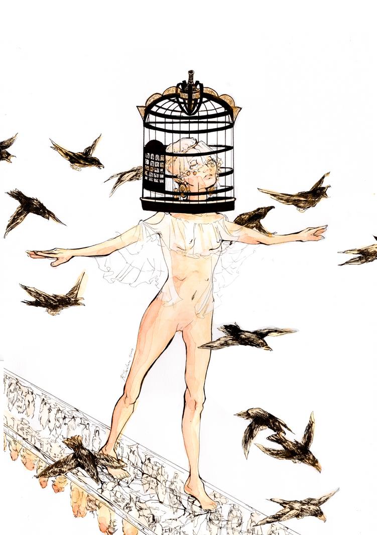Equlibrium by RominaSantana-Art
