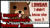 I support Pedobear stamps by Koriina