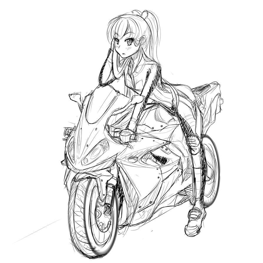 Motor Girl by 1Razor1
