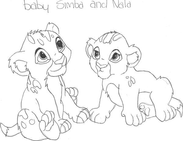 baby simba and nala by Livelaughlove101 on DeviantArt