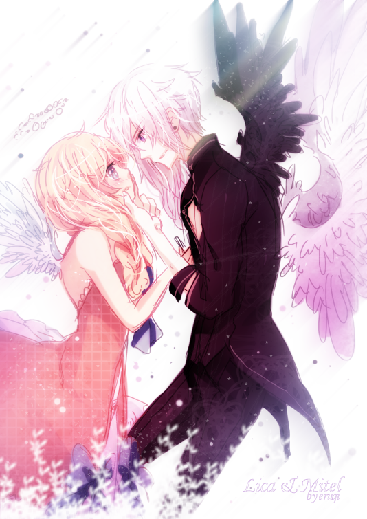 Lica and Mitel by eruqi
