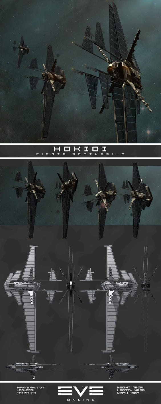 Hokioi Pirate Battleship by Damage-Sponge