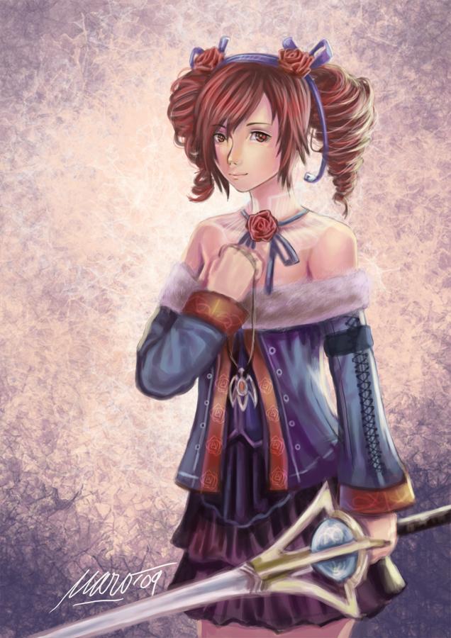 Amy Soul Calibur 4 by kuraiaku