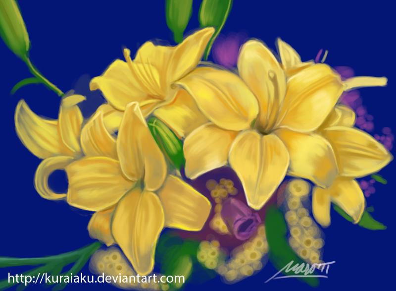 Daily Speed Paint 3 by kuraiaku