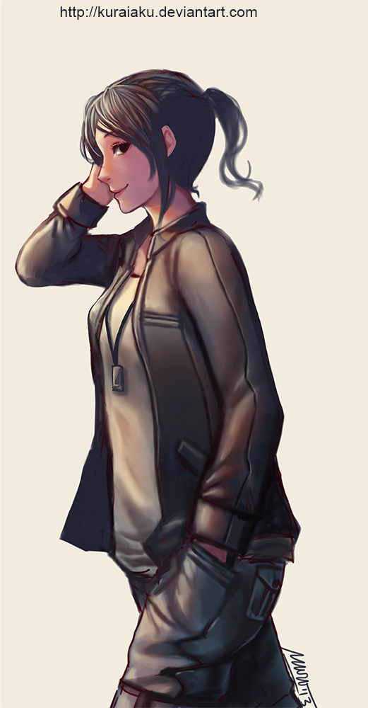 Tomboy By Kuraiaku On DeviantArt