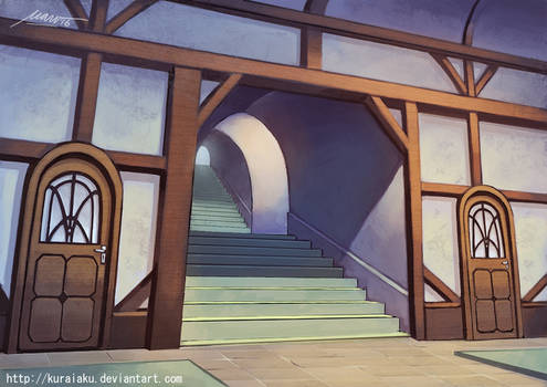Inn entrance