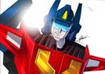 Transformers Victory : Star Saber Illustration
