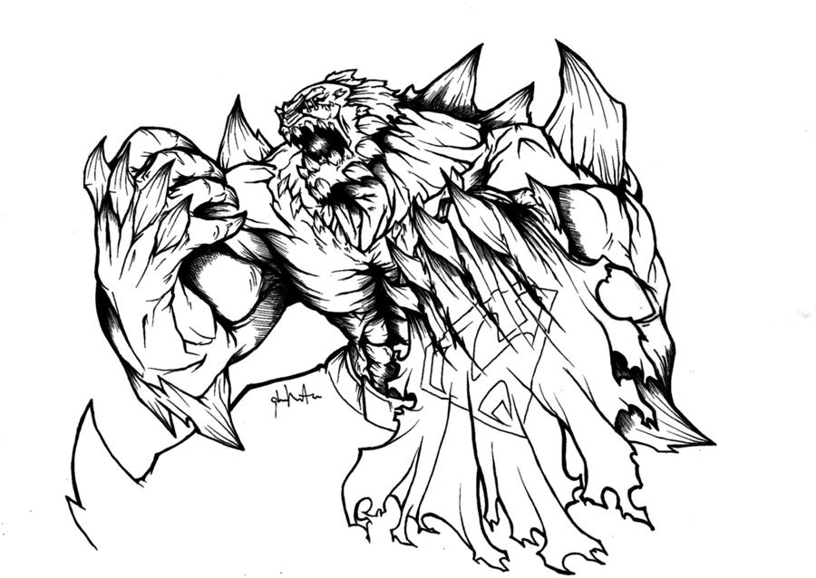 doomsday coloring pages | Doomsday by lamp0s on DeviantArt
