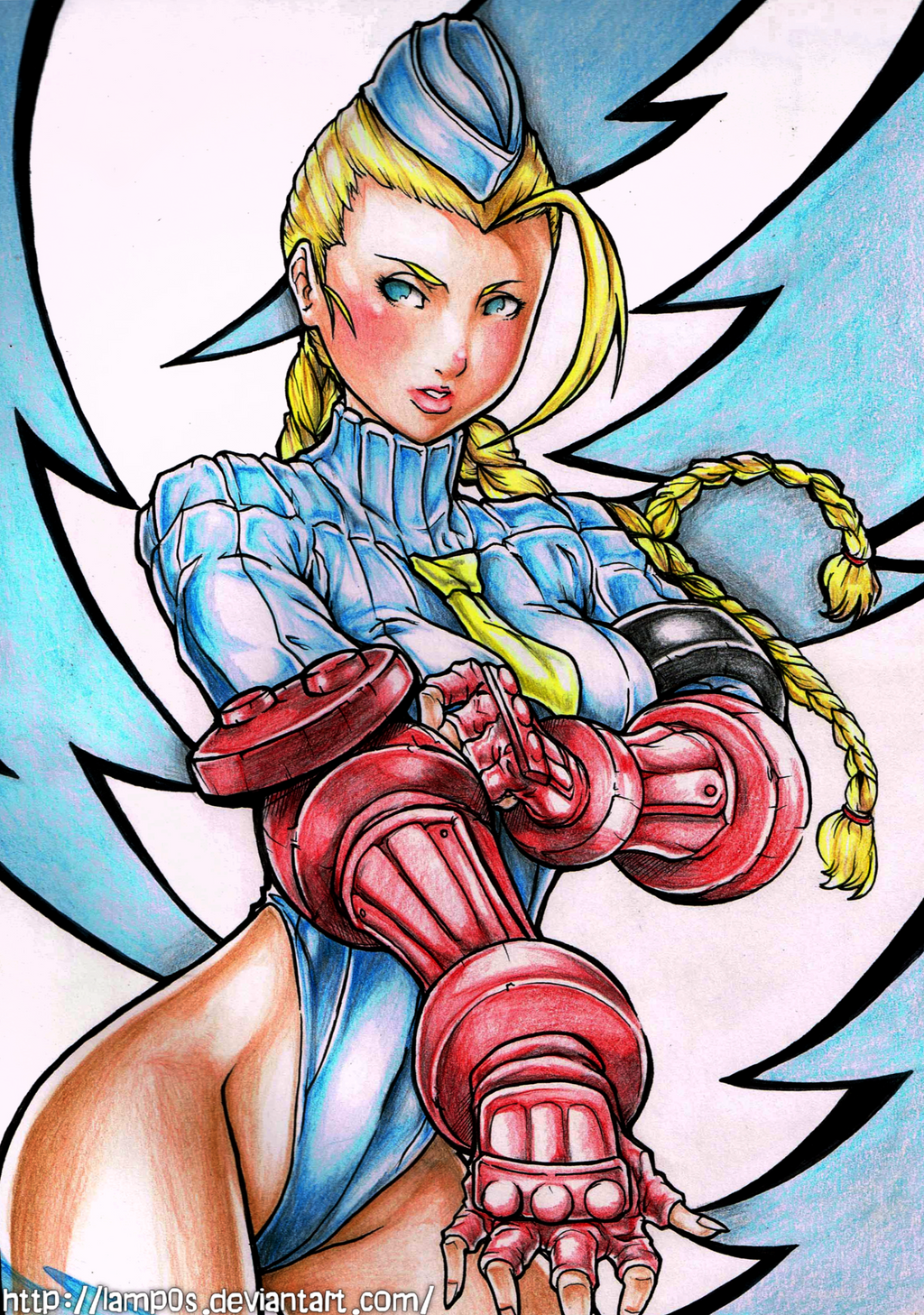Cammy White by lamp0s