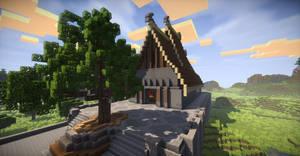 Minecraft: Torshov (norse temple)
