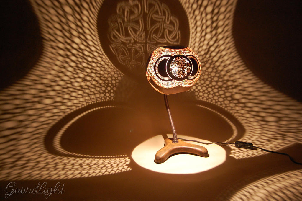 Handcrafted gourd lamp table lamp vii gourdlight by gourdlight on handcrafted gourd lamp table lamp vii gourdlight by gourdlight mozeypictures Image collections
