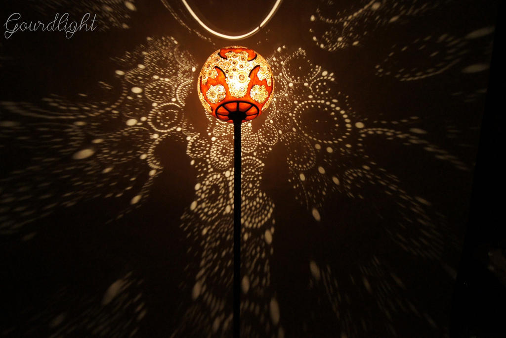 Handcrafted Gourd Lamp   Floor Lamp I   Gourdlight By Gourdlight ...