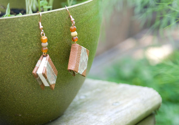 More Teensy Book Earrings by feynico
