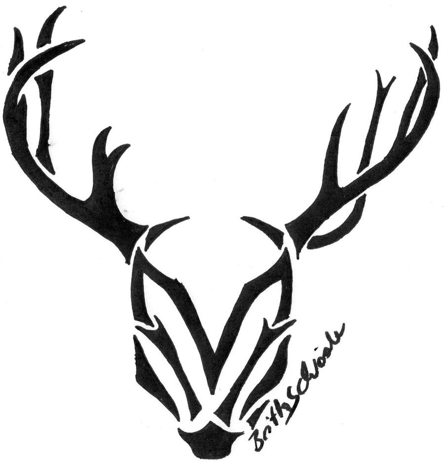 tribal deer by farmgirl93 on deviantart