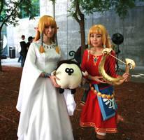Skyward Zelda by Honey-and-Matsuki
