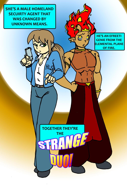 Jeanie Bottle Fan Comic 02 by CrazyCowProductions