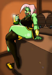 Sheria Drunk by CrazyCowProductions