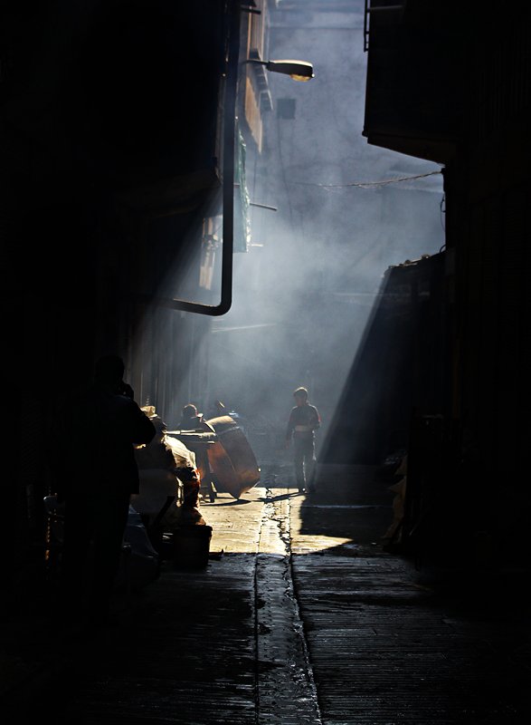 dark street by lisans