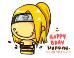 Happpii Birthday MuffinParade