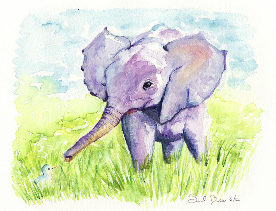 Elephant by sarahbbutler