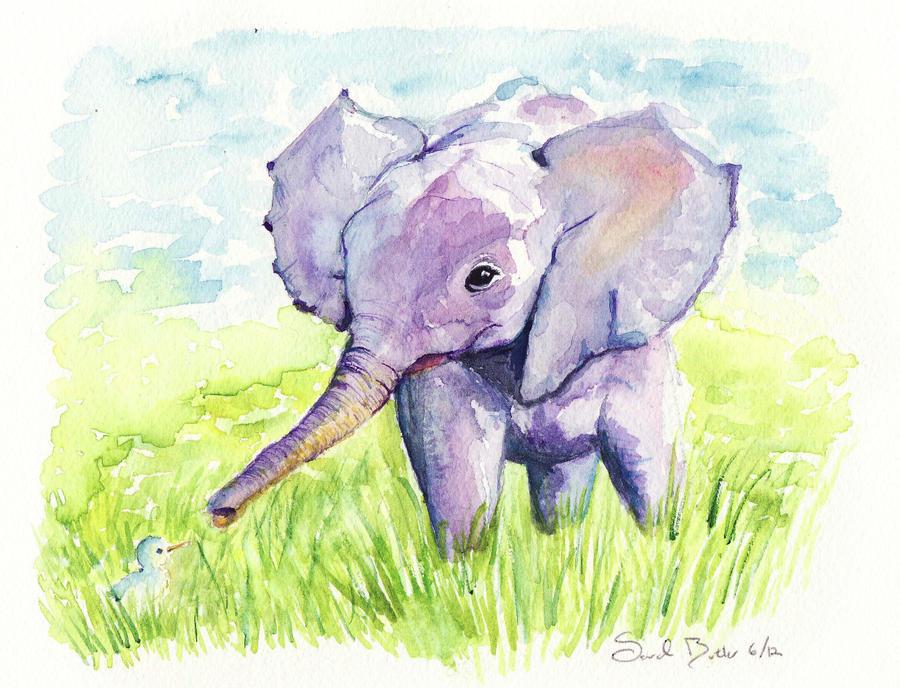 Elephant by sarahbbutler