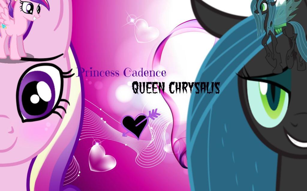 Queen Chrysalis And Princess Cadence Princess Cadence And QueenQueen Chrysalis X Princess Cadence