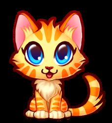 Cute kitten by Tiliantti