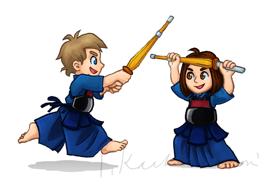 Junior kendo by Tiliantti