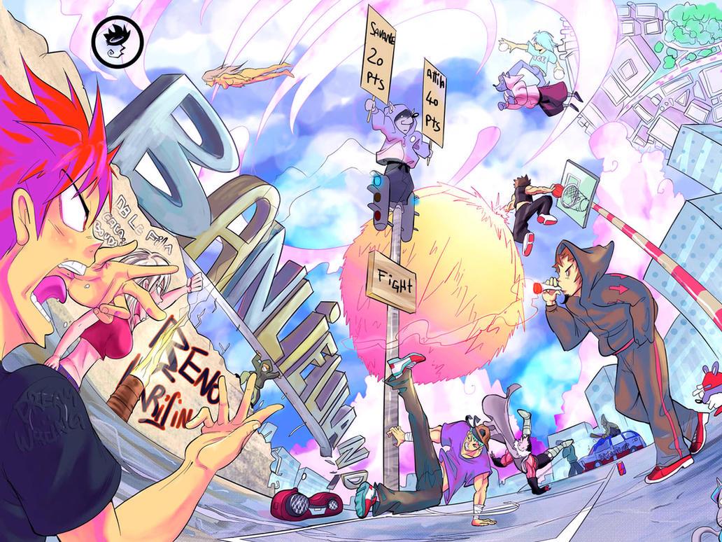 Dreamland Savane Vs Attila Does Hip Hop By Planetekrilin