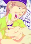 Johnny the Ear-wax seller by Planetekrilin