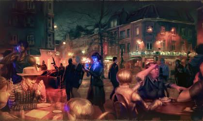 Paris people by Planetekrilin