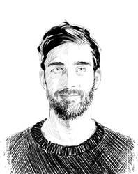 Portrait Ink by Planetekrilin