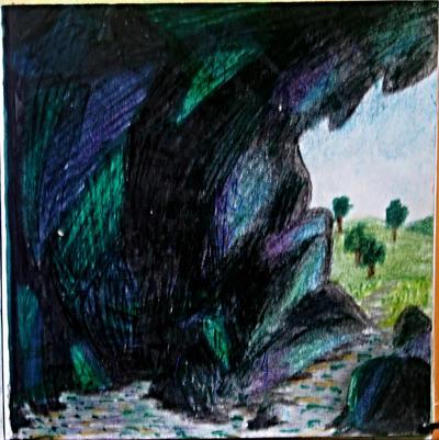 'Stone and glow' by Izvin