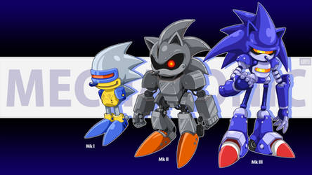 The 'Mecha Sonic' Brothers, 101! by djayterios1996