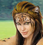 Detail Angelina Tiger