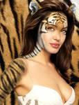 Angelina Jolie tiger II