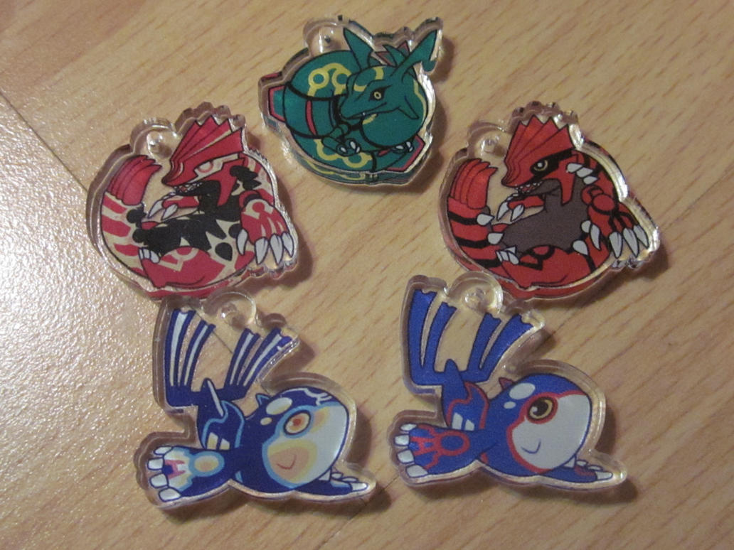 ORAS KEYCHAINS: LIMITED AMOUNTS by Poket-Skitts