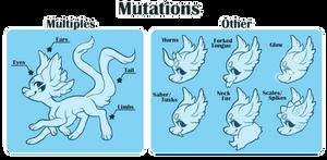 Astroflare Traits: Mutations