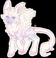 Pastel Unicorn (CLOSED) by Ponkochi