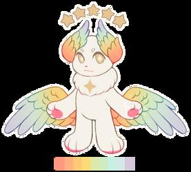 Angelic Rainbow (CLOSED) by Ponkochi