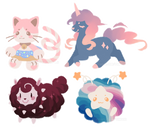 Assorted Lineless Adopts (CLOSED)