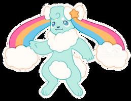 Rainbow Puff (CLOSED) by Ponkochi